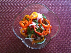 Salad Recipes: Sweet Bell Pepper Salad