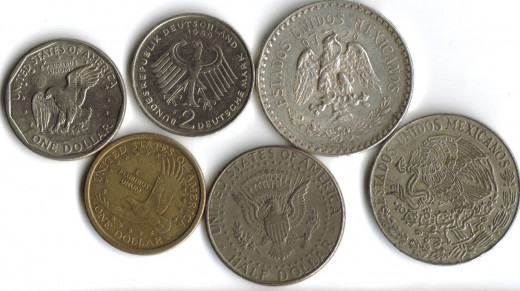 Coin Collection featuring Eagles