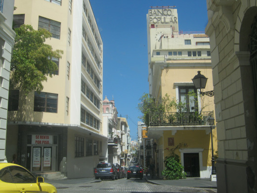 Street from Puerto Rico's Capital City