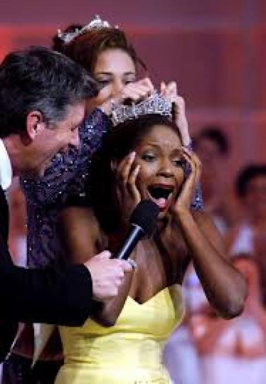 In 2004, a dark skinned Black woman was selected as Miss America.