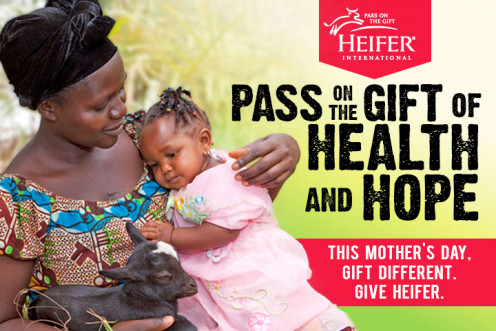 Give your mother the gift of giving