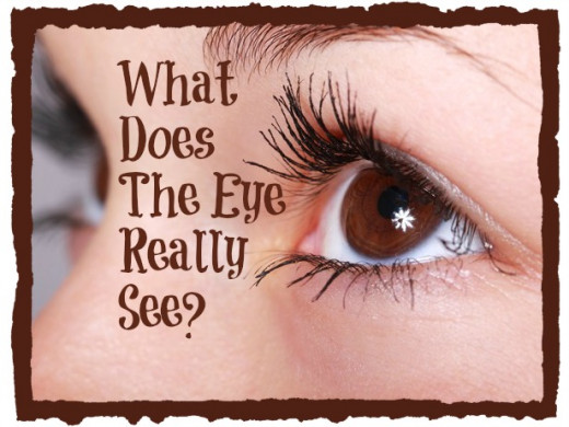 What does the human eye really see?