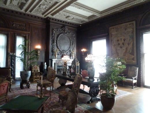 It is really the Vanderbilt Mansion.