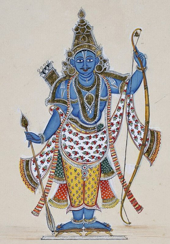 The 7th avatar of Vishnu, Rama.