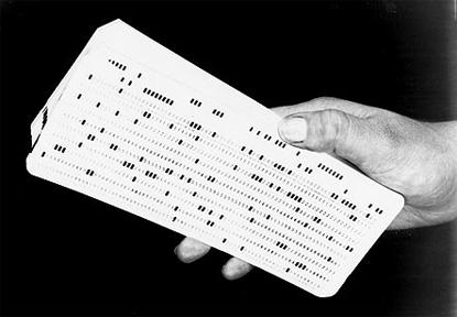 IBM Punch Card
