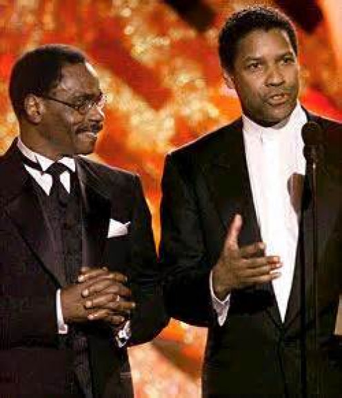 Carter and Denzel Washington
