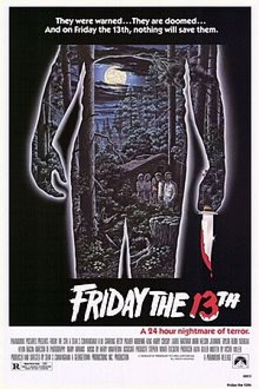 Friday the 13th Theatrical Poster