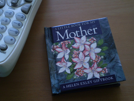 A book honoring a mother is a special gift.