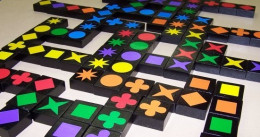 Educational toys - Qwirkle Board Game