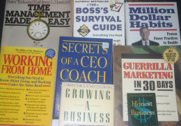 Reading all these success books does no good until you use what you learn!
