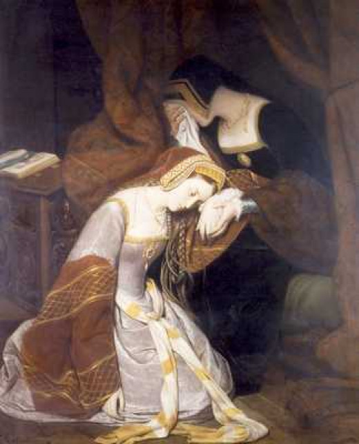 Anne Boleyn's fate was determined before her trial on May 15, 1536