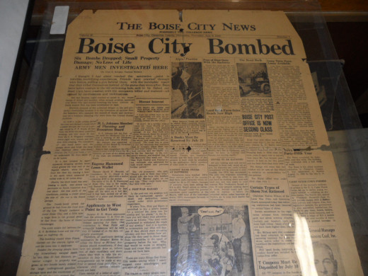 Boise City paper headlines