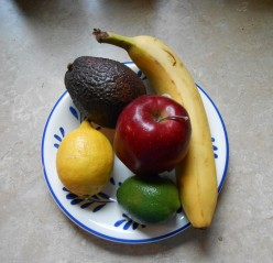 Fresh fruits and vegetables are often contaminated with pesticides are coated with wax.