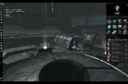 The Caldari reward, the Badger industrial ship.