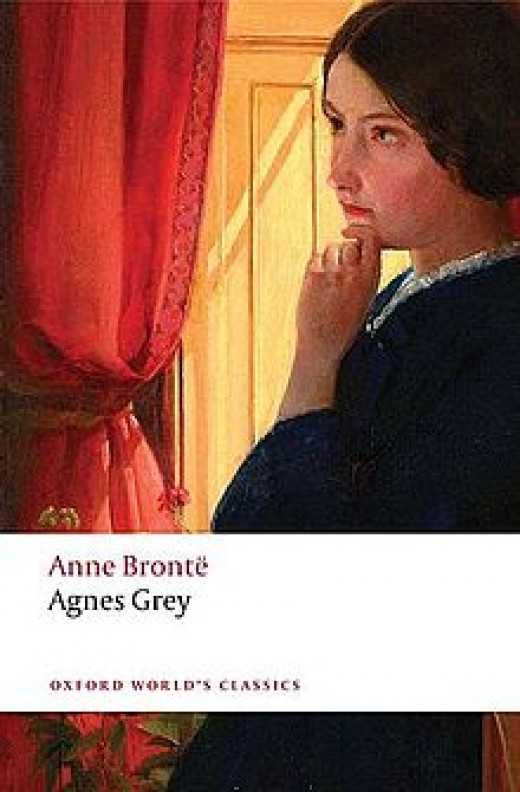 Book Cover of Anges Grey by Anne Bronte as seen on Oxford World's Classics