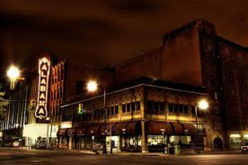 The Alabama Theatre has hosted many live plays including The Diary of Ann Frank which was a truly special event.
