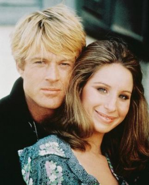 Robert Redford and Barbra Streisand from 'The Way We Were'