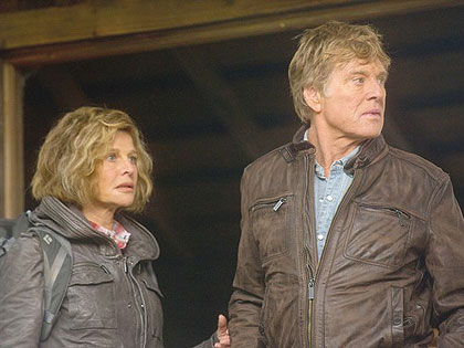 Robert Redford and Julie Christie playing two former '60's dissidents in his most recent movie, 'The Company You Keep'
