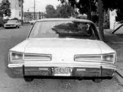 Carter's white car