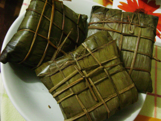 Packets of Goodness-Banana leaf tamales