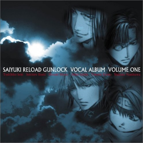Saiyuki Reload Gunlock Vocal Album Volume 1 CD cover.