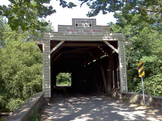 Sheeder-Hall Bridge, Chester County, PA