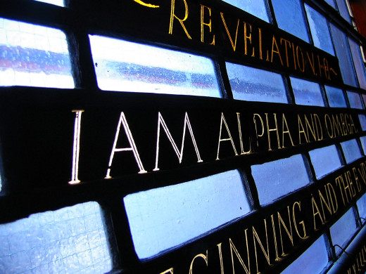 Jesus, The Alpha and Omega