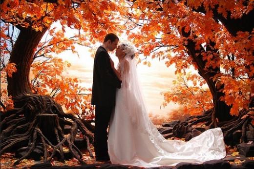Romantic Autumn Wedding