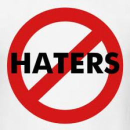 Keep your hate to yourself