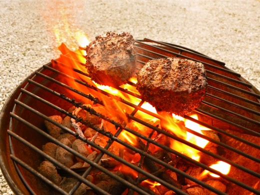 Enhance grilling with pecan wood.