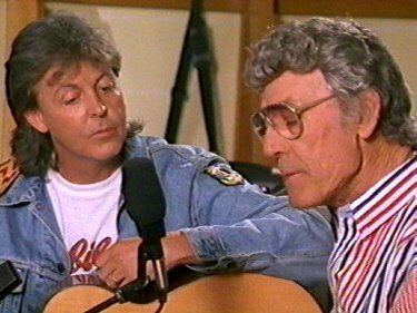 Carl Perkins & Paul McCartney