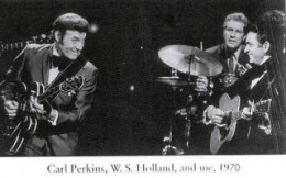 Carl Perkins, W.S. Holland Johnny Cash, 1970