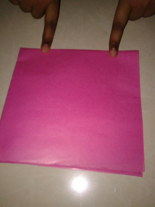 Fold horizontally