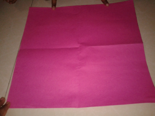 Unfold the paper