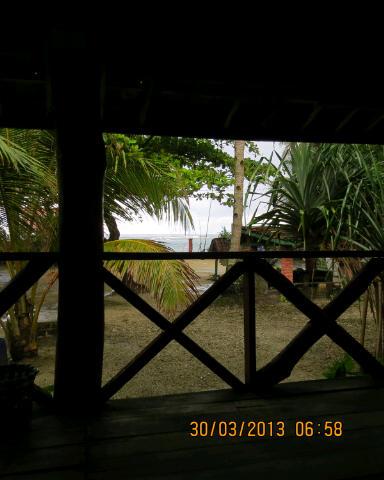 Ujung Genteng viewed from Kalapa Doyong beach.
