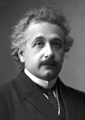 Albert Einstein At The Time He Won The Nobel Prize