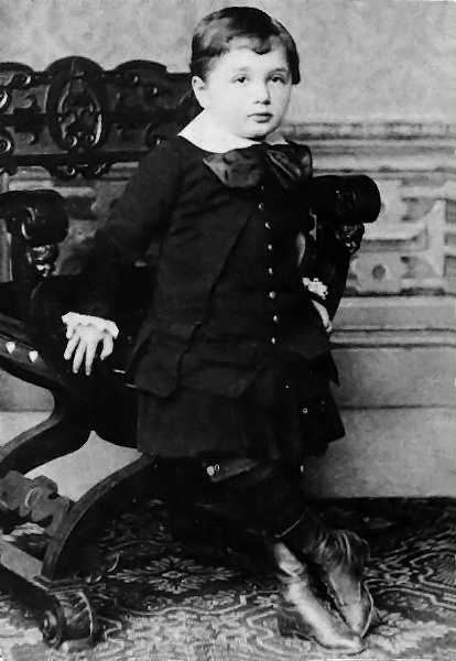 Albert At The Age Of Three.