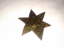 cut paper star