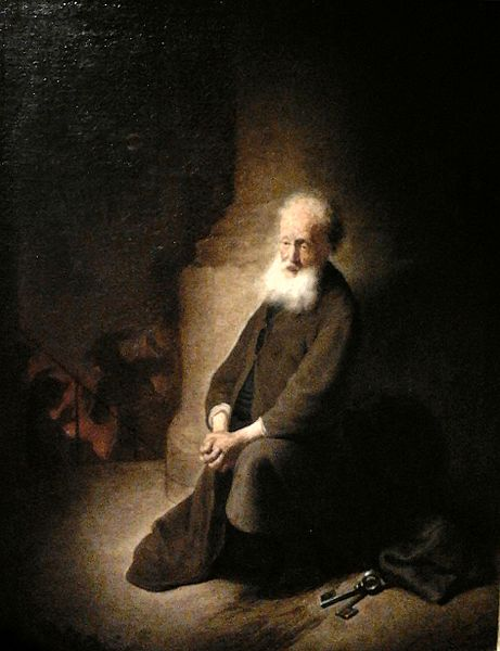 'Repentant Saint Peter' by Rembrandt
