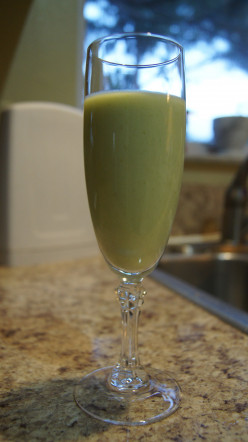 Easy Yummy Avocado Smoothie #1 Coco-Lemon