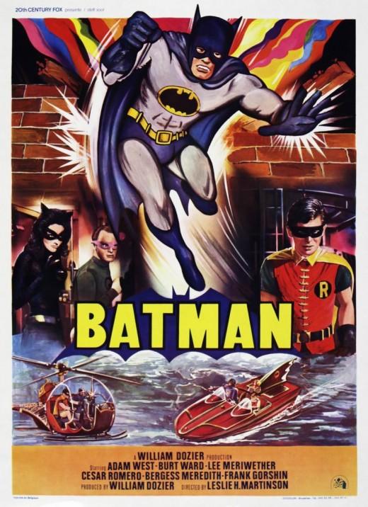 Batman (1966) Belgian poster