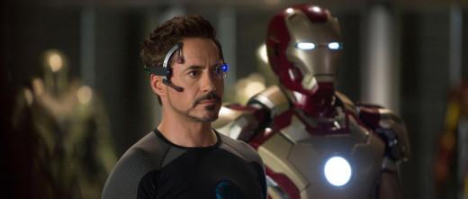 Ironman, Tony Stark, played by Robert Downey Jr.