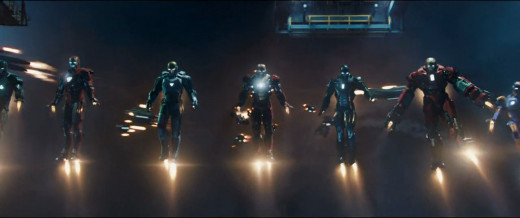 An Ironman army of heros