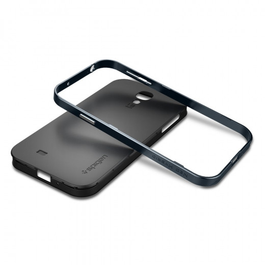 Neo Hybrid Metal Slate Thin Bumper protective case.