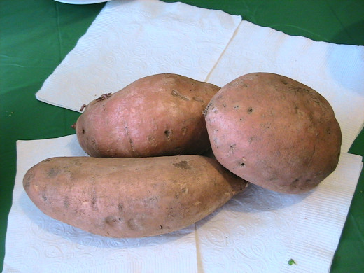 I was able to eat the sweet potatoes raw too, even with my stomach being a little tender.