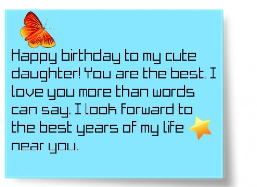 Happy Birthday Quotes for Daughter From Mom – Birthday Card for My Mother