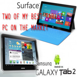 Two of my best Tablet PC on the market