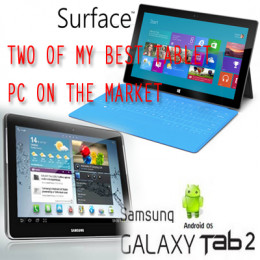 Which Tablet Surface or Galaxy?