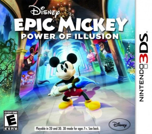 Epic Micky - One of the Best 3DS XL Games for Kids