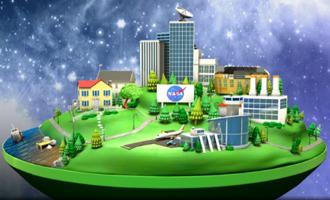 NASA CITY. NASA probably impacts your daily life.